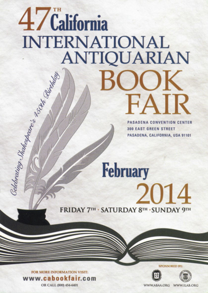 47th California International Book Fair — Pasadena
