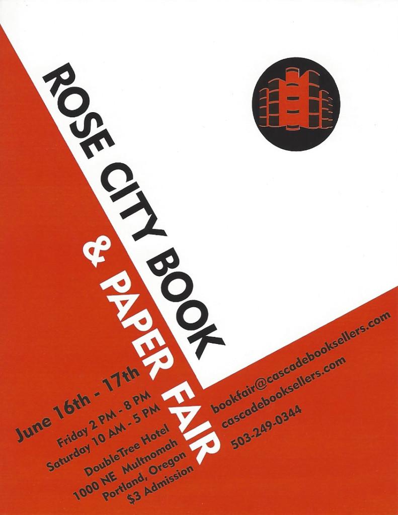 Rose City Book & Paper Fair
